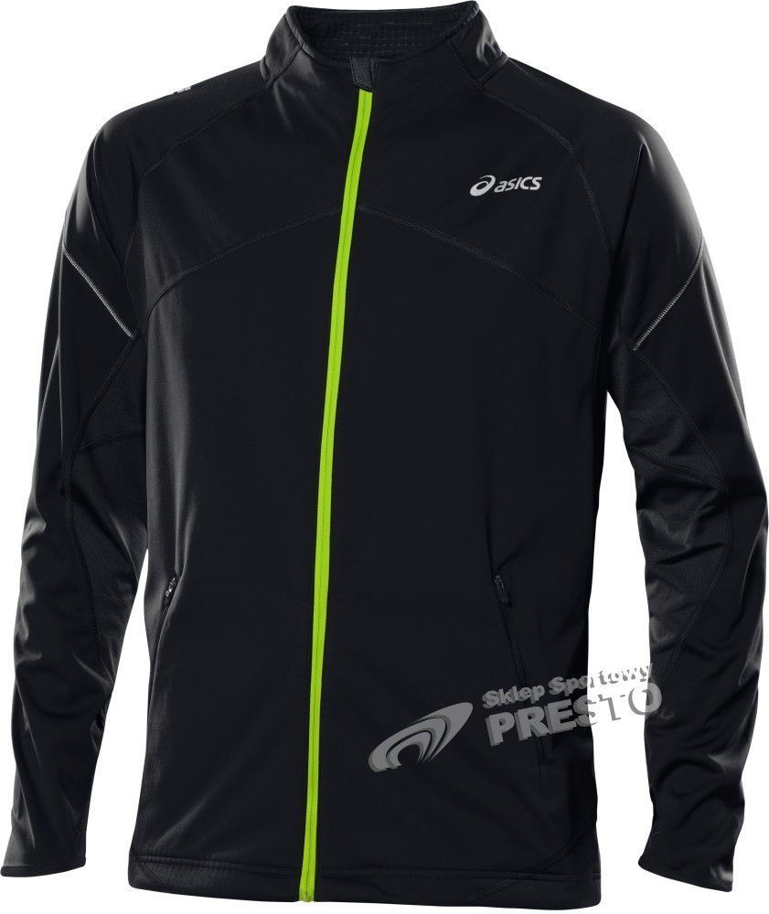 Asics Kurtka męska Winter Jacket czarno zielona r. L ID produktu: 1616420
