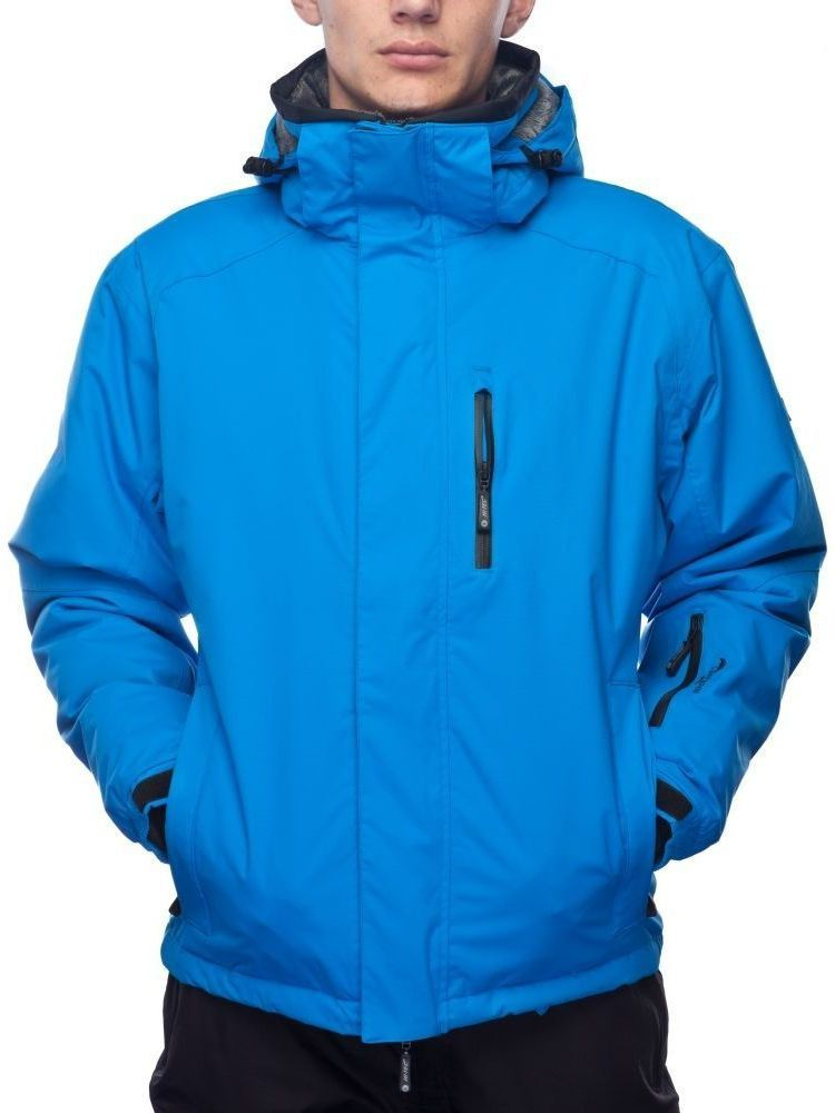 duża zniżka butik wyprzedażowy tanie z rabatem Hi-tec Kurtka męska Aspen II 15.000 niebieska r. XL ID produktu: 1616796