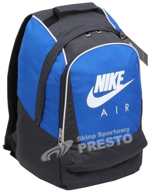 61b06569b35b9 Nike Plecak sportowy Nike AIR BA2127 niebiesko-grafitowy uniw -  884500195769 w Sklep-presto.pl