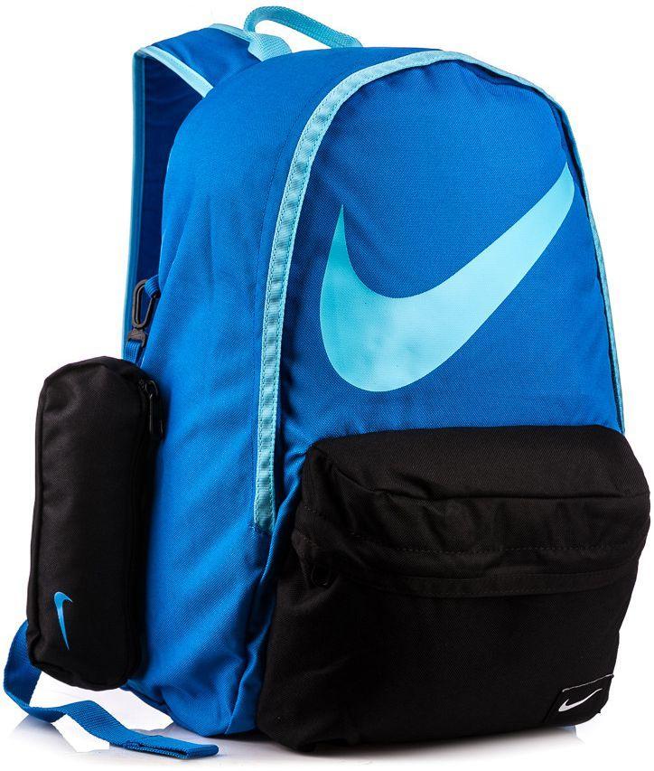 w sprzedaży hurtowej wspaniały wygląd butik wyprzedażowy Nike Plecak szkolny z piórnikiem Young Ath. Halfday Back To School 23 Nike  niebiesko-czarny uniw - 888409140707 ID produktu: 1617829