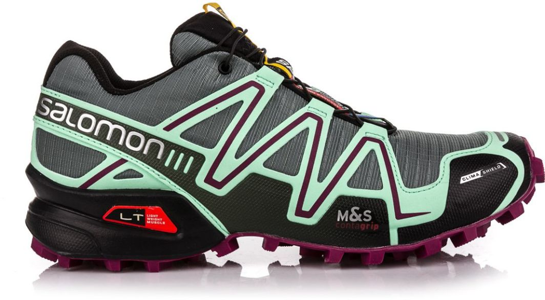 Salomon Buty damskie Speedcross 3 CS Light TTLucite GreenMystic Purple r. 38 ID produktu: 1618502