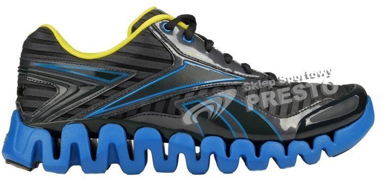 Reebok Buty męskie biegowe ZigTech ZigActivate czarno niebieskie r. 40.5 ID produktu: 1619067
