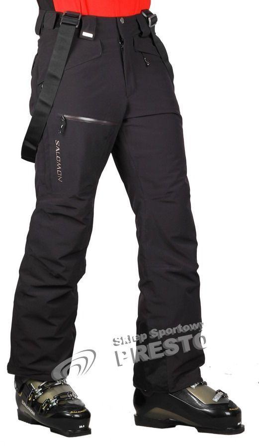 SALOMON CLIMA PRO spodnie narciarskie XL
