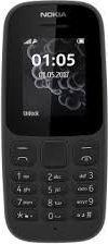 Telefon komórkowy Nokia 105 (2017) Czarny Dual Sim 1