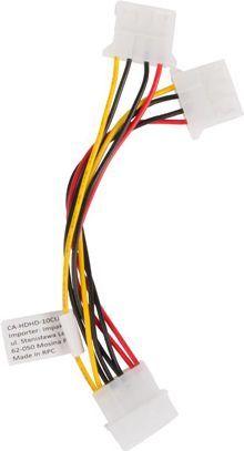 Lanberg Molex 4pin-2x4pin 15cm (CA-HDHD-10CU-0015) 1