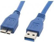 Kabel USB Lanberg KABEL USB 3.0 MICRO AM-MBM5P NIEBIESKI 1.8M LANBERG CA-US3M-10CC-0018-B - CA-US3M-10CC-0018-B 1