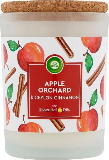 Air Wick Air Wick świeca Life Scents jabłko i cynamon 1