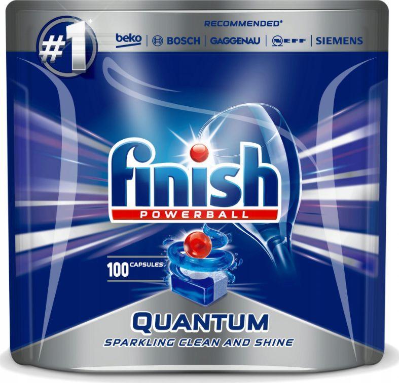 Finish Kapsułki do zmywarki Quantum 100szt. 1