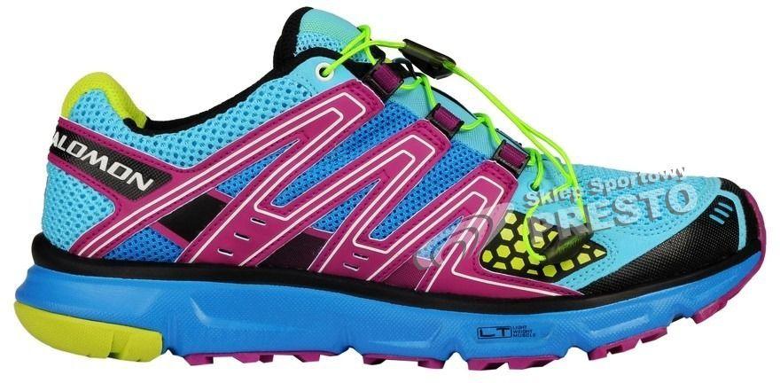 Salomon Buty biegowe trailowe damskie XR W Mission Salomon niebiesko fioletowy 40 80694771547 ID produktu: 1621541