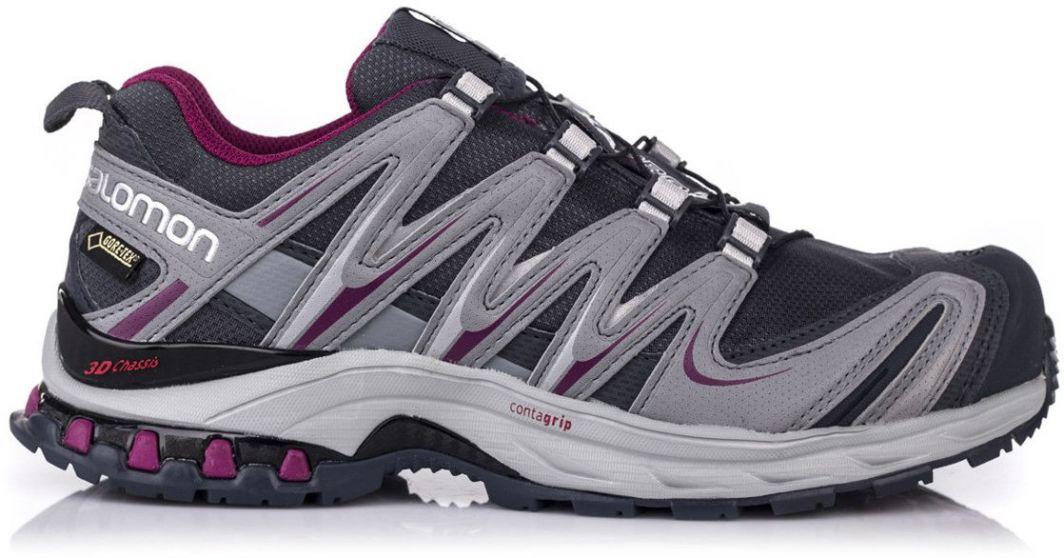 Salomon Buty damskie XA Pro 3D GTX W Grey DenimPearl GreyMystic Purple 38 23 887850307820 ID produktu: 1621569