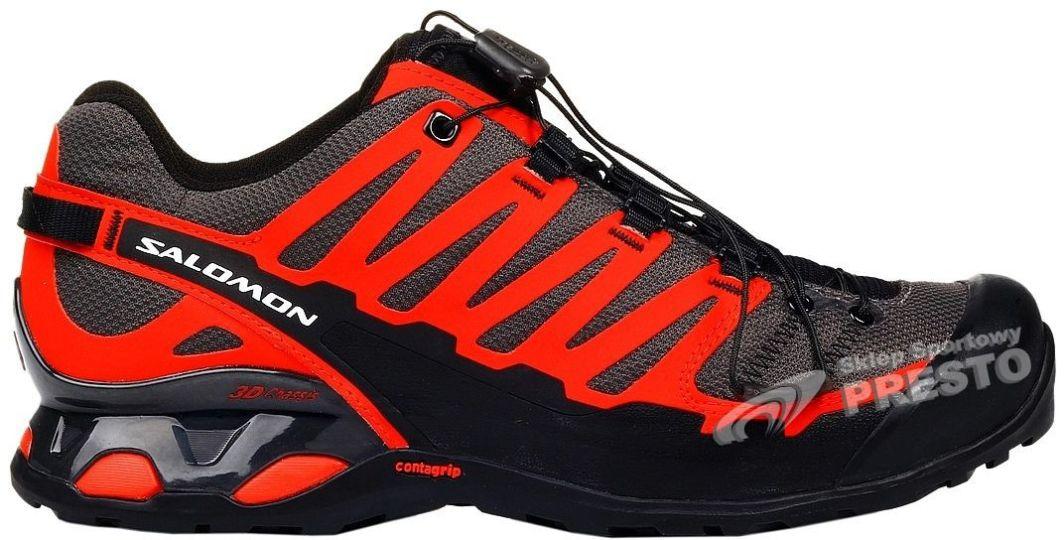 Salomon Buty męskie biegowe trailowe X Over Salomon czerwono czarny r. 44 23 ID produktu: 1621718