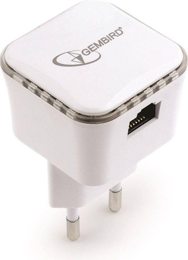 Access Point Gembird Wzmacniacz WIFI mini B/G/N300 z gniazdem RJ-45 (WNP-RP300-01) 1