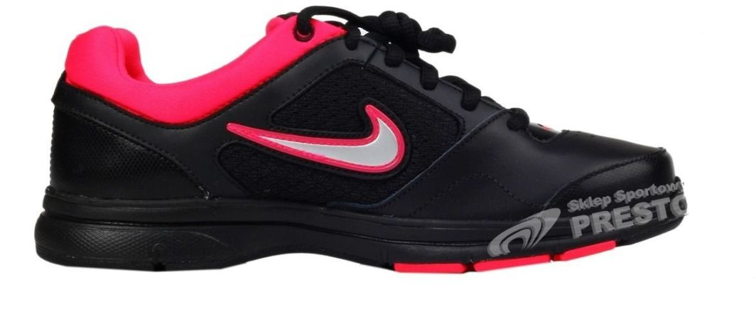 Nike Buty damskie Womens Steady VIII czarno różowe r. 36.5 ID produktu: 1622419