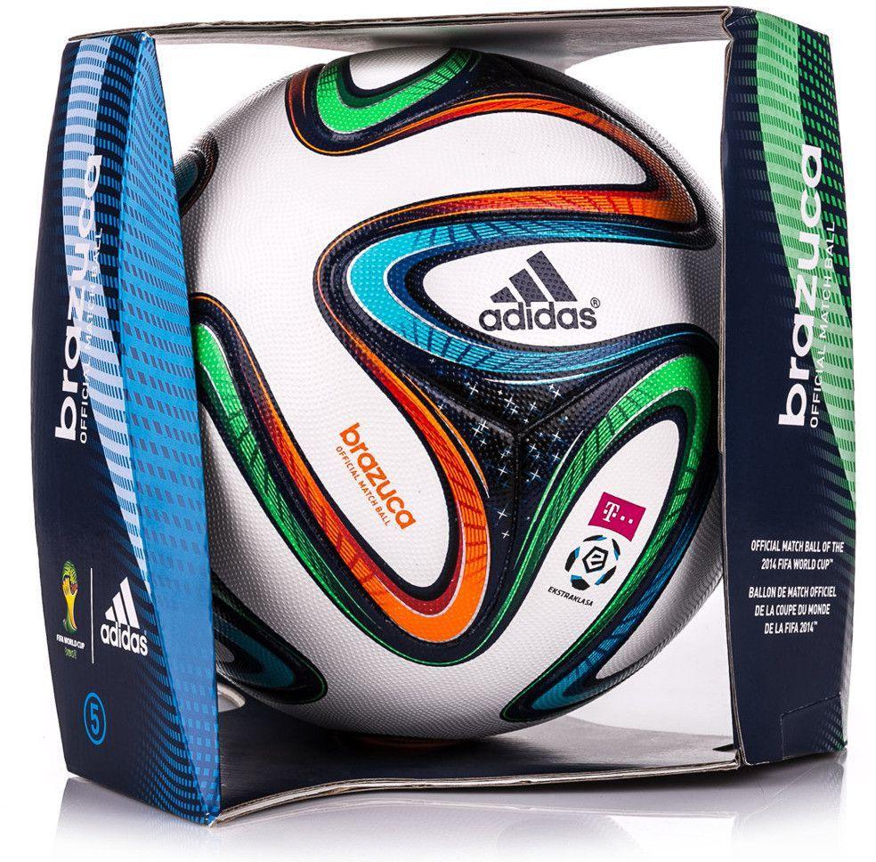 7106a5aefb37 Adidas Piłka nożna Brazuca T-Mobile Ekstraklasa Official Match Ball 5  Brazylia 2014 Adidas uniw - 4054709182228 w Sklep-presto.pl