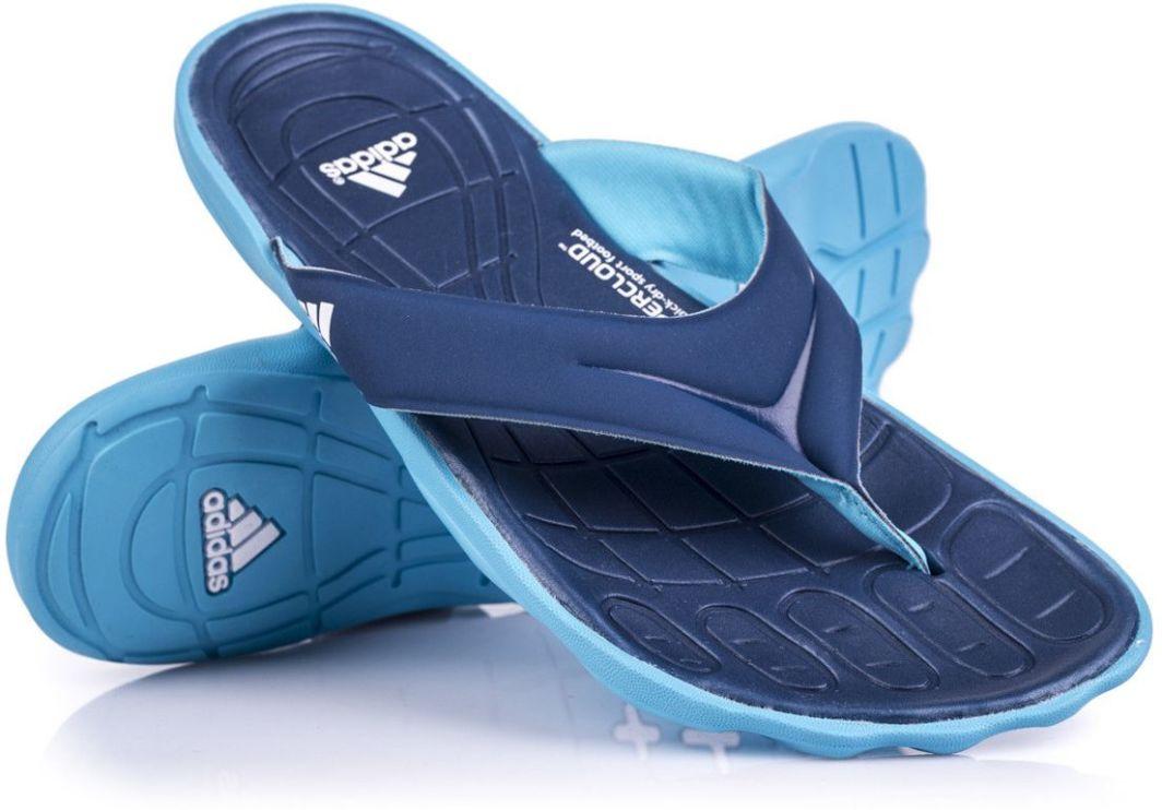 Adidas Japonki damskie adiPure Thong SC niebieskie r. 37 (4053515597677) ID produktu: 1622663