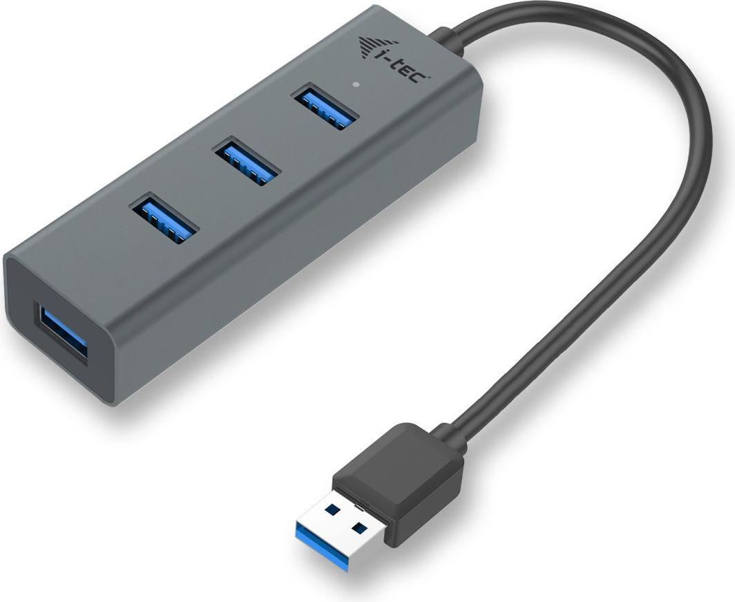 HUB USB I-TEC U3HUBMETAL403 1