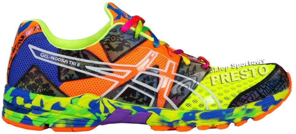 Asics Buty męskie biegowe triathlonowe Gel Noosa Tri 8 wielokolorowe r. 42.5 ID produktu: 1623345