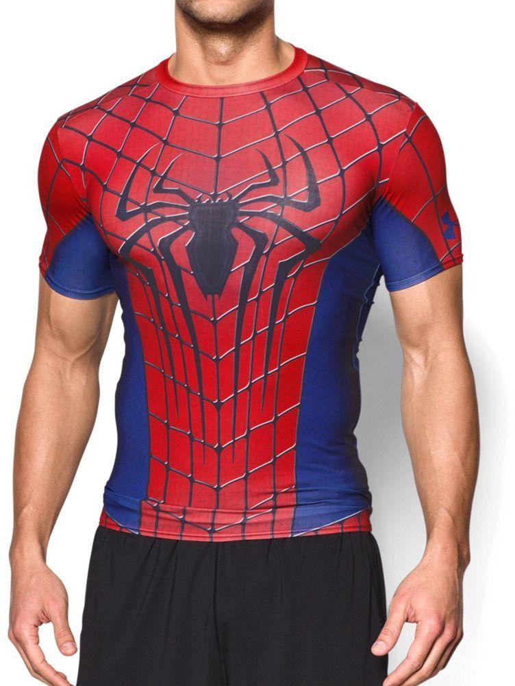 5d38c036a3e38c Under Armour Koszulka męska Alter Ego Transform Yourself Under Armour  Spider-Man Red/Blue XXL - 2000091021759 w Sklep-presto.pl
