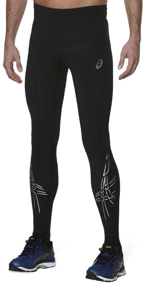 c06e4ebcba4a84 Asics Spodnie męskie Stripe Tight Asics Performance Black r. XL w Sklep -presto.pl
