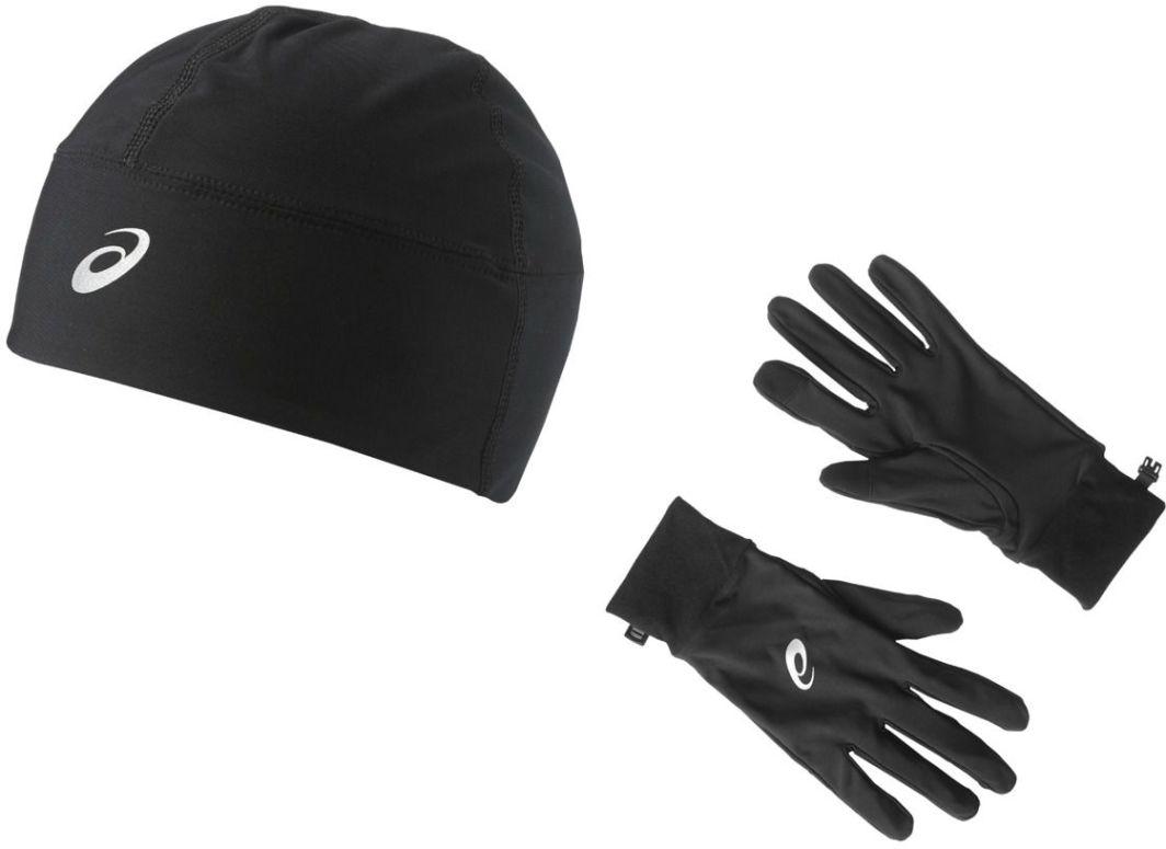 Asics Czapka i rękawiczki do biegania Running Pack Performance Black r. S ID produktu: 1623573