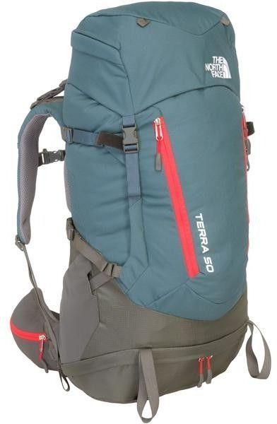 sprzedawane na całym świecie najlepiej online nowy przyjazd The North Face Plecak turystyczny damski Terra 50 L/XL The North Face  Conquer Blue/Fiery Red uniw - 715752237696 ID produktu: 1624918