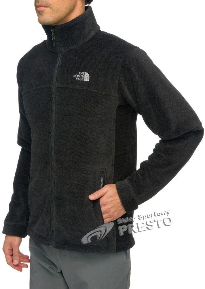 najlepszy gładki całkowicie stylowy The North Face Polar męski Genesis Jacket The North Face TNF Black M -  808390902030 w Sklep-presto.pl