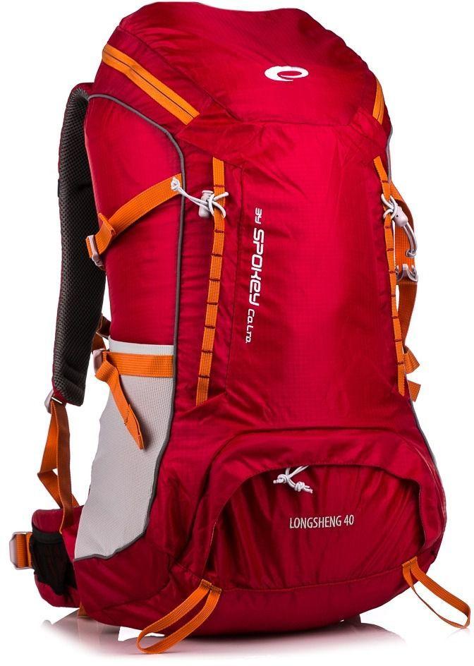 c3e918146fb9f Spokey Plecak trekkingowy Longsheng 40 czerwony (835321) w Sklep-presto.pl