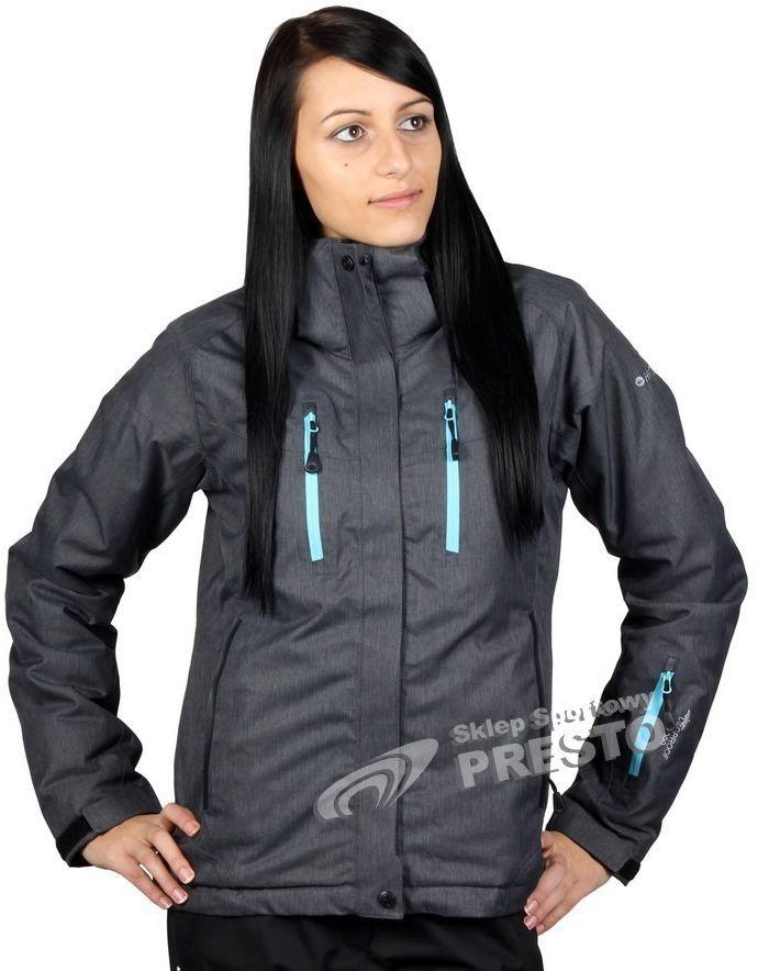dobra jakość wylot online najlepszy Hi-tec Kurtka narciarska damska Lady Alberta 15.000 szaro-niebieski r. S ID  produktu: 1626957
