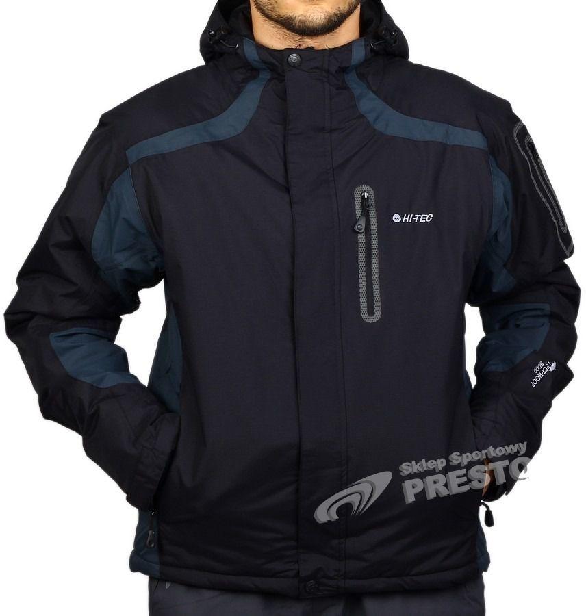 o rozsądnej cenie trampki oficjalny sklep Hi-tec Kurtka narciarska męska Brad czarno-szary r. 2XL ID produktu: 1626972