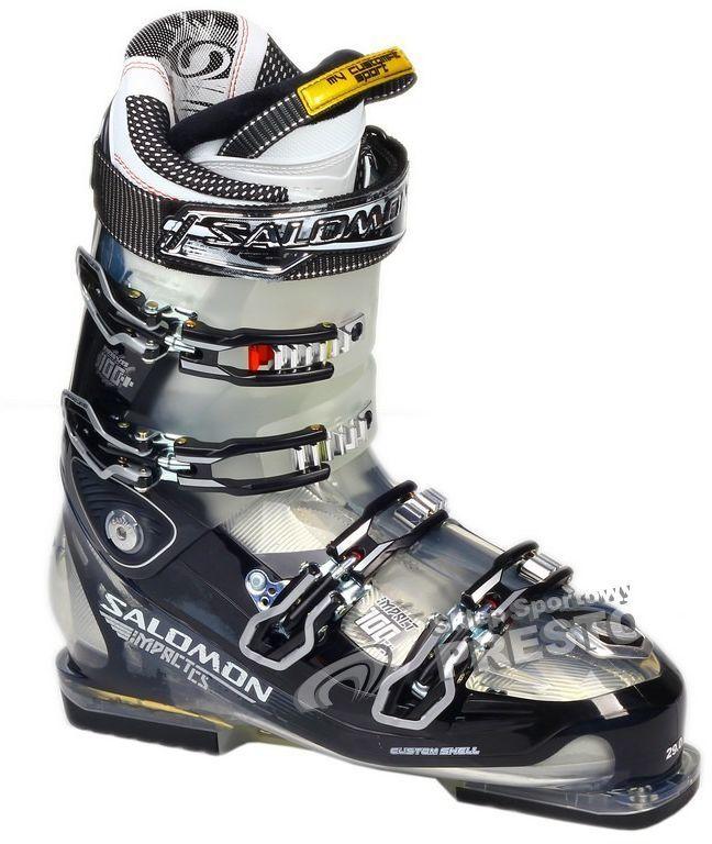 Buty narciarskie salomon wkładka 28.5 cm Galeria zdjęć i