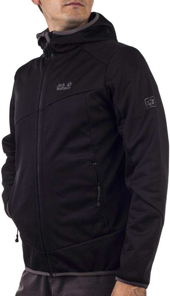 Jack Wolfskin Kurtka męska Glacier Valley Jacket Men czarna r. XL ID produktu: 1628390