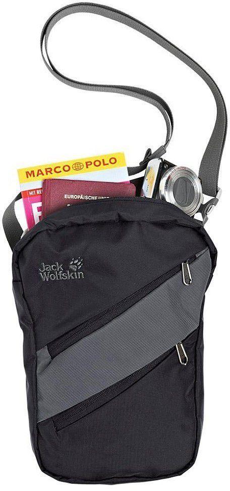 b37144dd4dca6 Jack Wolfskin Torebka na ramię saszetka Travel Bag XT RFID Pro Tect Jack  Wolfskin Black uniw - 4052936404908 w Sklep-presto.pl