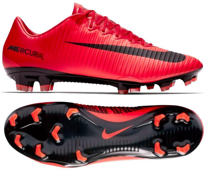 competitive price 72094 edcb4 Nike Buty piłkarskie męskie Mercurial Vapor XI FG czerwone r. 45 (831958  616) ID produktu: 1628746