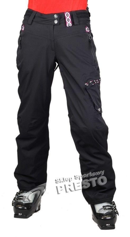 Rossignol Spodnie narciarskie damskie Sky Stretch 20.000 Rossignol czarny XL ID produktu: 1629571