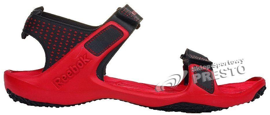 Reebok Sandały męskie Trail Serpent II czerwono-czarne r. 43 (884562525900)  w Sklep-presto.pl 37b0ab6ead