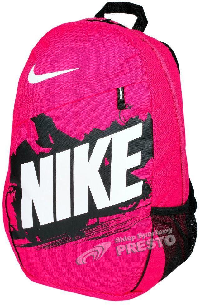 c21e5d4d6fb0e Nike Plecak sportowy Turf 20 BA4379 Nike różowo-czarny uniw - 887224807031  w Sklep-presto.pl
