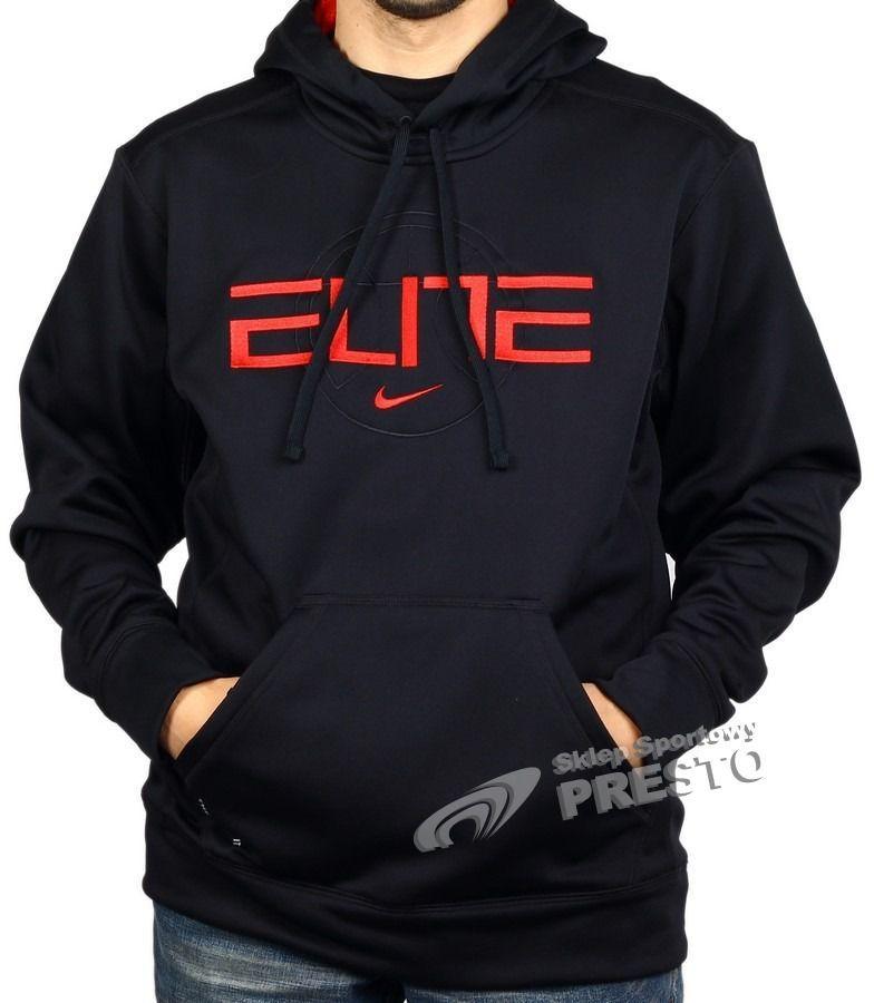 Nowe Produkty popularna marka szalona cena Nike Bluza męska z kapturem Elite Performance Hoody Stay Warm czarna r. S  ID produktu: 1631234