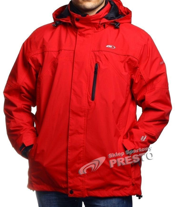 Martes Kurtka męska Dover 4000 czerwono czarna r. M ID produktu: 1631466