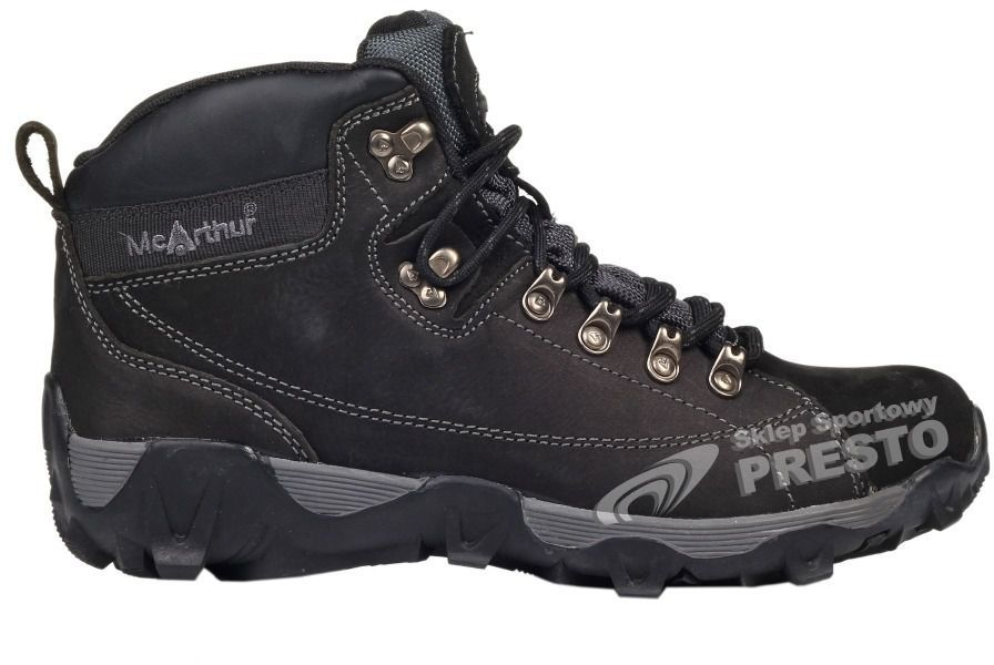 McArthur Buty trekkingowe męskie W11 M TL 08 McArthur czarny r. 46 ID produktu: 1631531