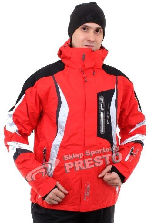 Husky Kurtka męska narciarska Wort 20.000 czerwono czarno biała r. M ID produktu: 1631927