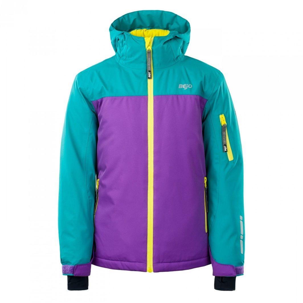 BEJO Kurtka juniorska Nora Jr navigate/purple heart/blazing yellow r. 146 1