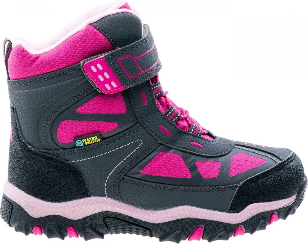 Elbrus Buty Dziecięce Lariti Mid WP Jr Fuchsia/Pink/Dark Grey r. 34 (4230) 1