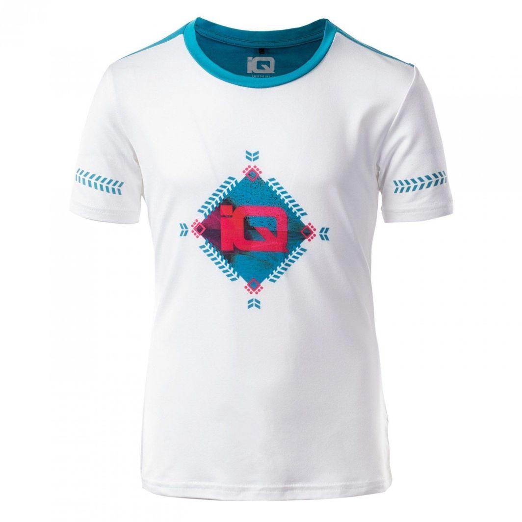 IQ Koszulka dziecięca COLISA II JRG White Enamel Blue r. 158 ID produktu: 1632861