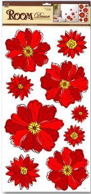 Sticker BOO Dekoracja ścienna kwiaty (RDA 3087) 1