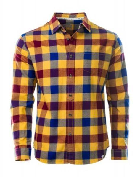 3667c096de62eb Iguana Koszula męska TARIRO Honey Gold/ Dress BLue r. XL w Sklep-presto.pl
