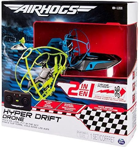Dron Spin Master Spin Master Hyper Drift Drone - blue - 6040305 1