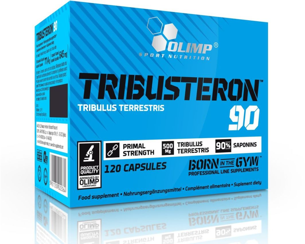 Olimp Tribusteron 90 buzdyganek ziemny 120 kaps. 1