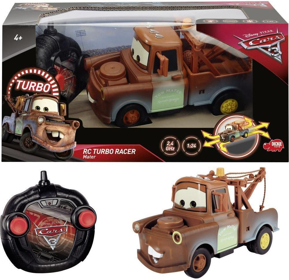 Dickie Cars 3 Turbo Racer Mater (203084008) 1