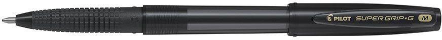 Pilot Długopis ze skuwką Super Grip, czarny (PIBPS-GG-F-B) 1