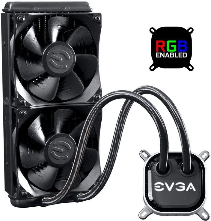 Chłodzenie wodne EVGA CLC 240 RGB (400-HY-CL24-V1) 1